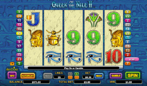 Queen of the Nile 2 Slot