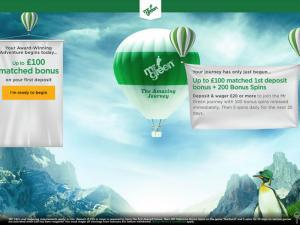 Mr Green Homepage
