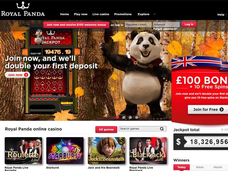 Royal Panda Screenshot 1