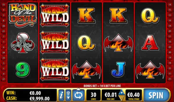 Bally Hand of the Devil Slot