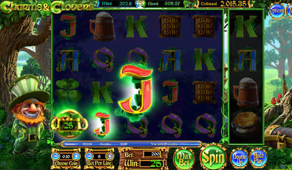 Betsoft Charms and Clovers Slot