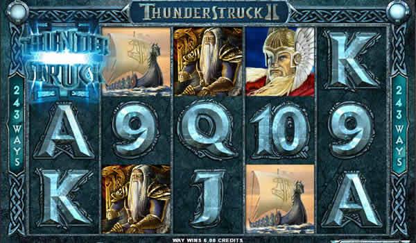 Thunderstruck II Microgaming Slots