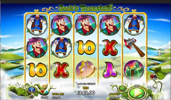 Jack's Beanstalk Nyx Slot