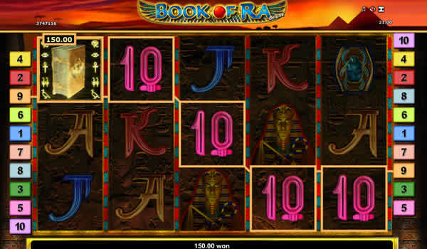 Novomatic Slot Book of Ra