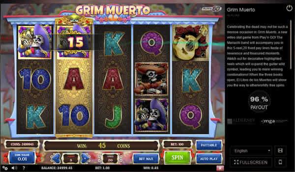 Play'n GO Slot Grim Muerto