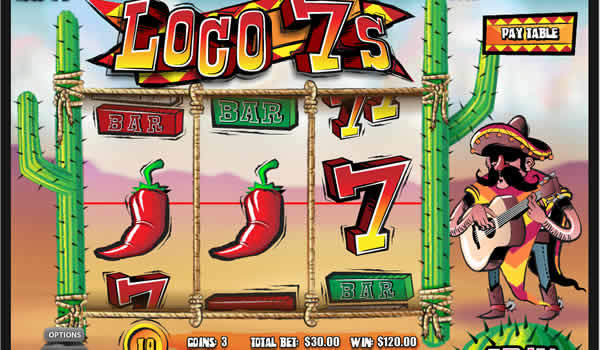 Loco 7s Realtime Gaming Slot