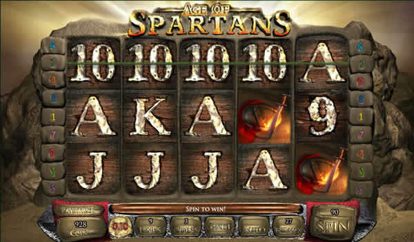 Age of Spartans Saucify Slot