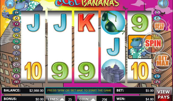 Cool Bananas WGS casino Slot