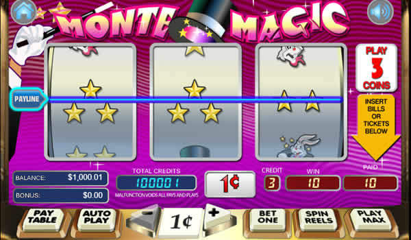 Monte Magic WGS Slot