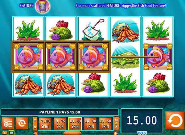 WMS casino software Goldfish