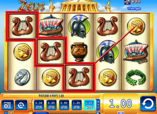 WMS casino software Zeus 3