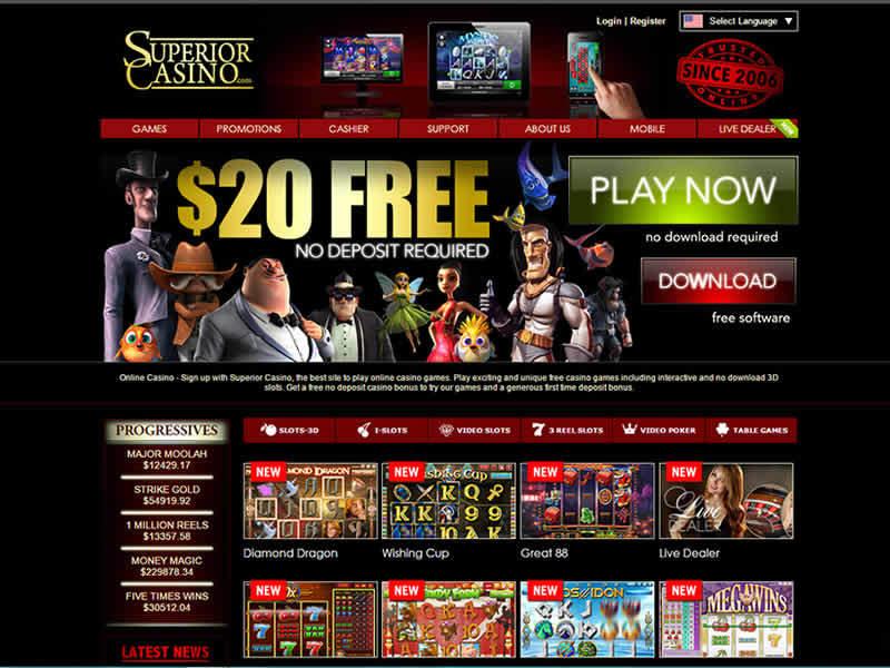 Casino Homepage