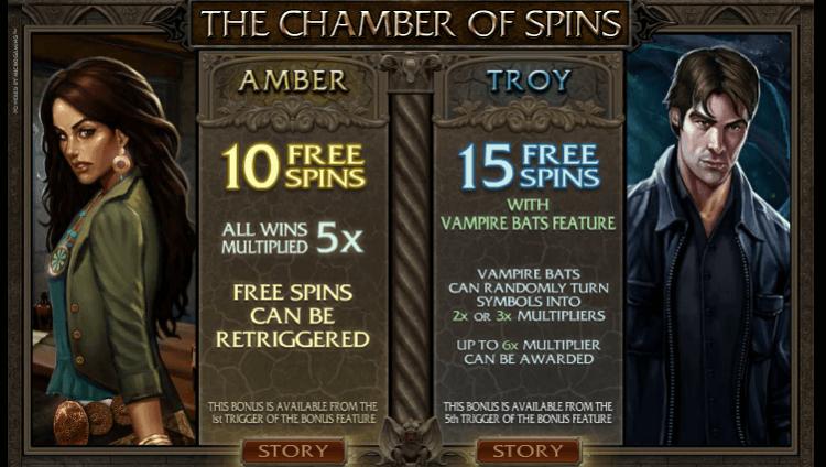 Immortal Romance Slot Free Spins