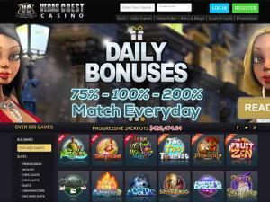 Vegas Crest Casino HomePage