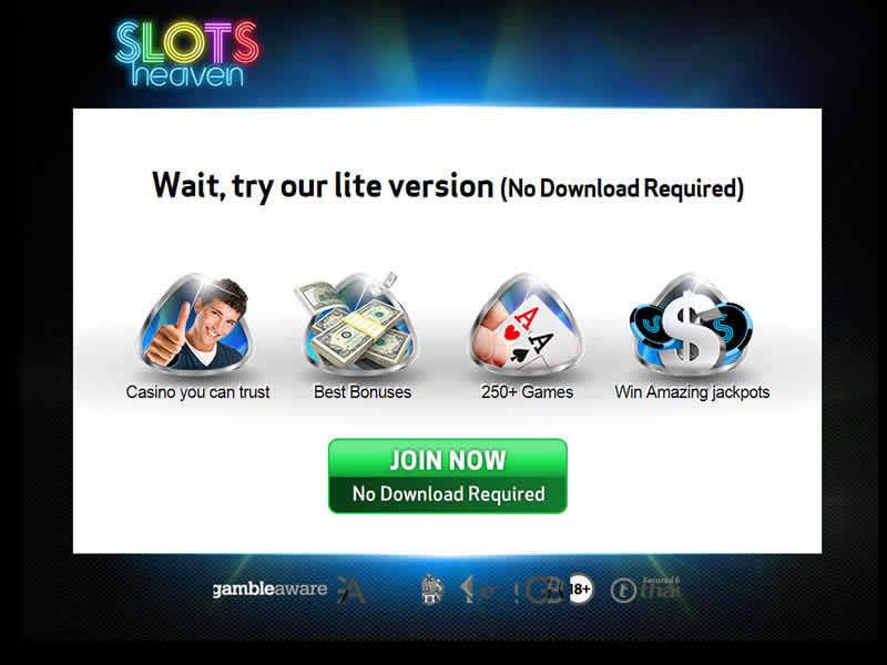 Slots Heaven Casino Instant Play Option