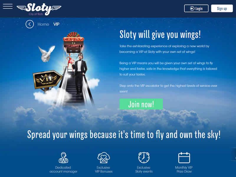 Sloty Casino VIP Program