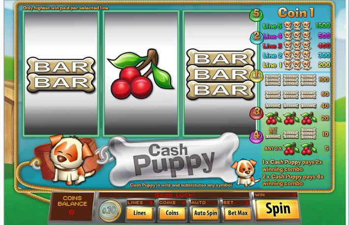 Cash Puppy Slot