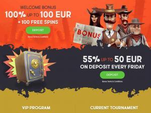 Gunsbet Casino Bonuses