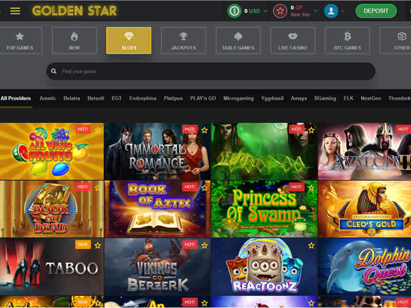 Golden Star Casino Site