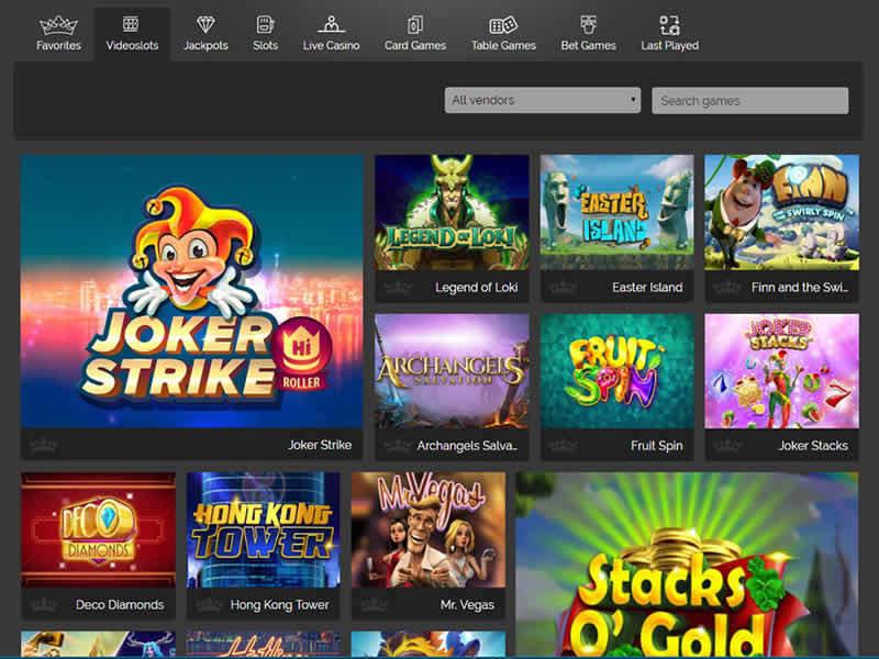 Triple Aces Casino Games
