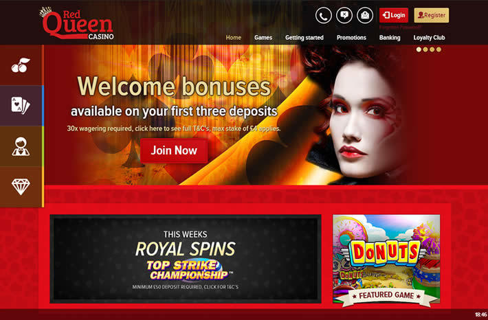 3 Online Casinos that Rock - UK + Europa - RedQueen Casino