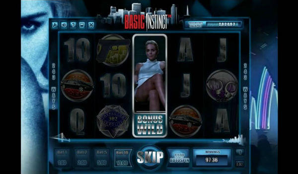 Basic Instinct Slot Machine