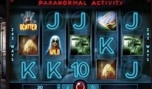 Paranormal Activity Slot Machine