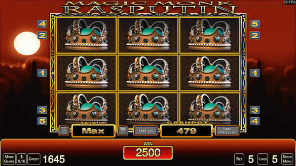 Merkur Slot: Magic Monk / Rasputin