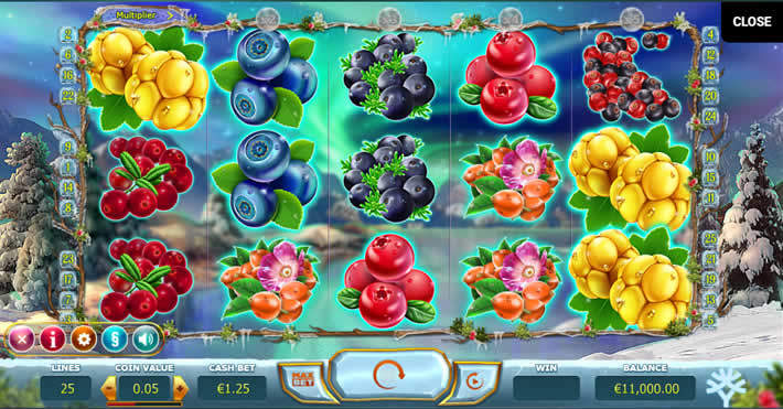 Yggdrasil Slot Games: Winter Berries