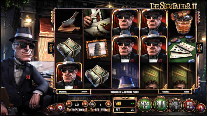 Real Money Slots Betsoft: The Slotfather Part II