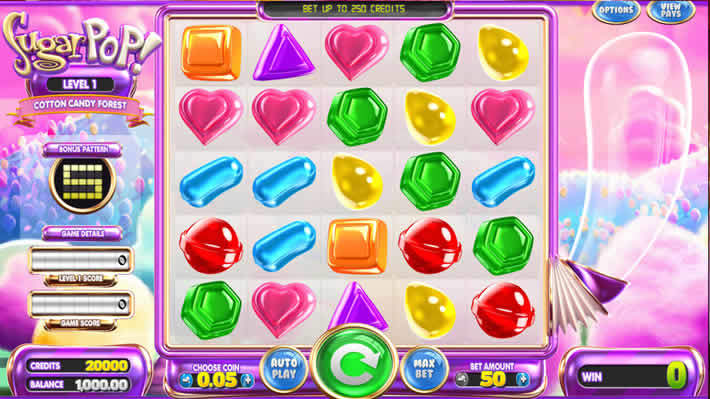 Betsoft: Sugar Pop