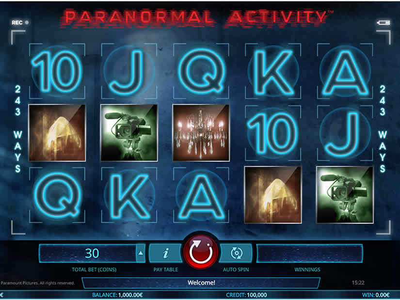 iSoftBet: Paranormal Activity Slot