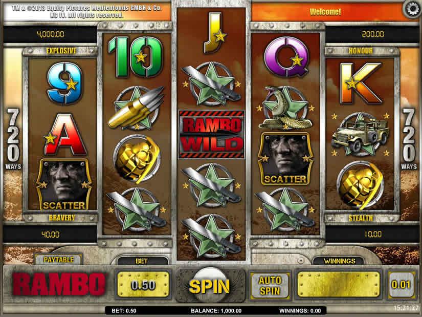 iSoftBet: Rambo Slot