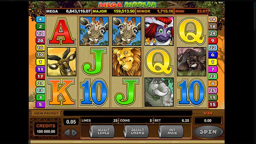 Microgaming Slots: Mega Moolah