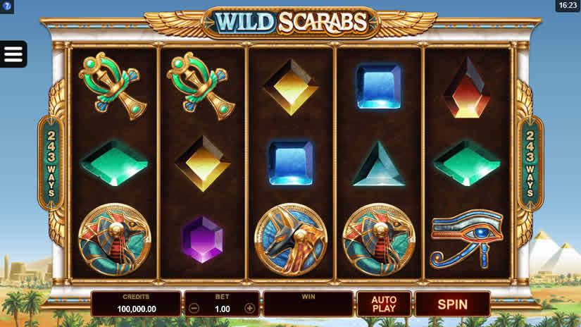 Microgaming Slots: Wild Scarabs