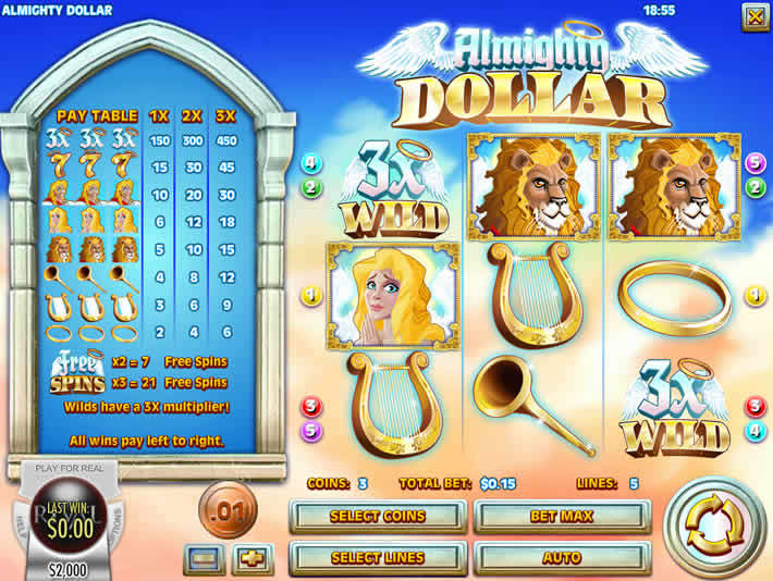Online slots for real money: Rival Almighty Dollar