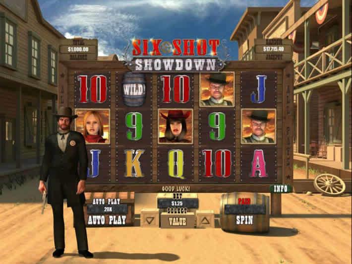 Real Time Gaming: Six Shot Showdown