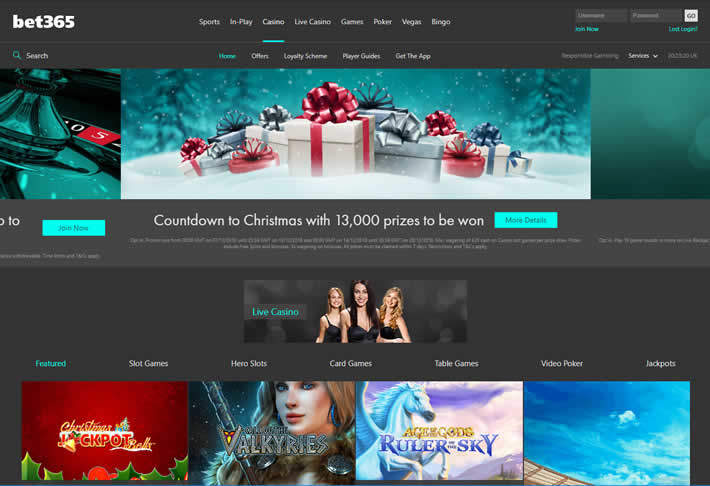 Bet365: Betst Casinos for 2018