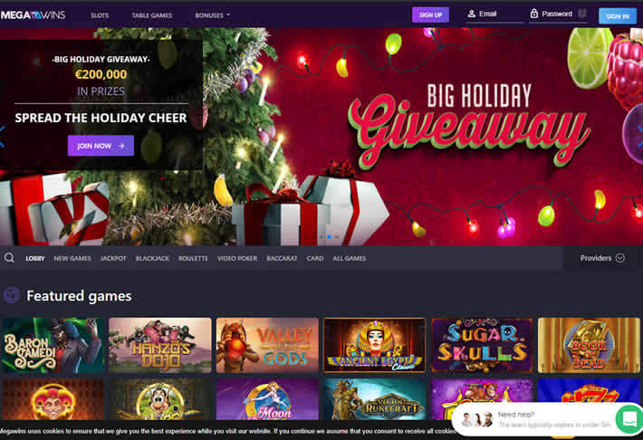 Megawins: Best online casino for 2018