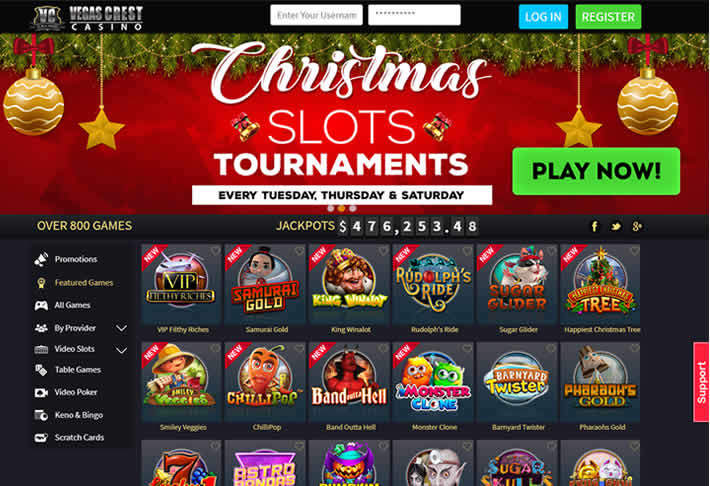 Vegas Crest: Best online casino for 2018