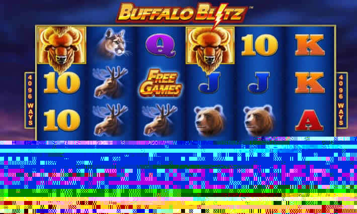 Buffalo Blitz Slot by Playtech: 4096 ways to win