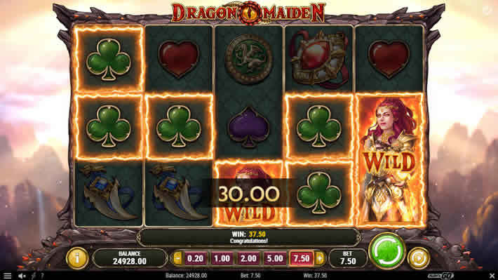 Dragon Maiden slot by Play'n Go: 243 ways to win slot