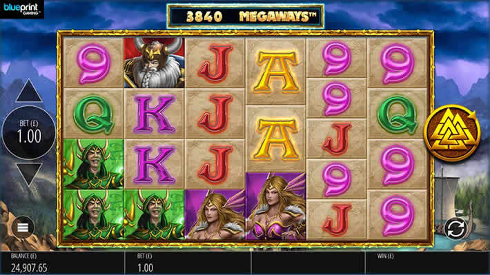 Thunder Strike Megaways slot by Blueprint Gaming