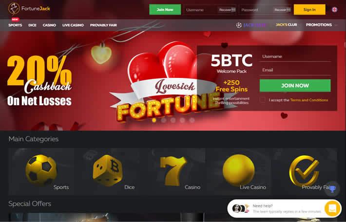 Fortunejack Casino Valentine's 2019 Bonus