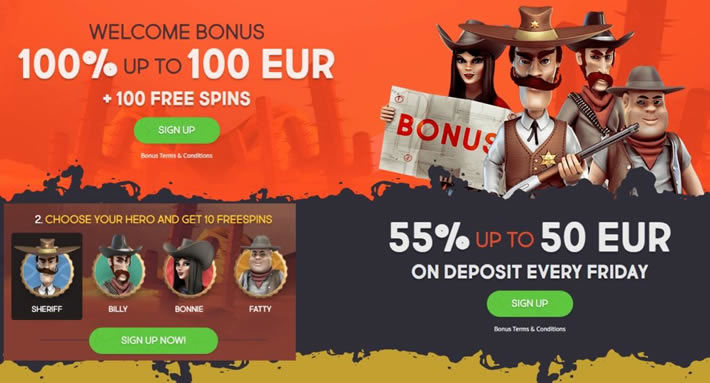 Gunsbet casino Valentine's bonus for 2019