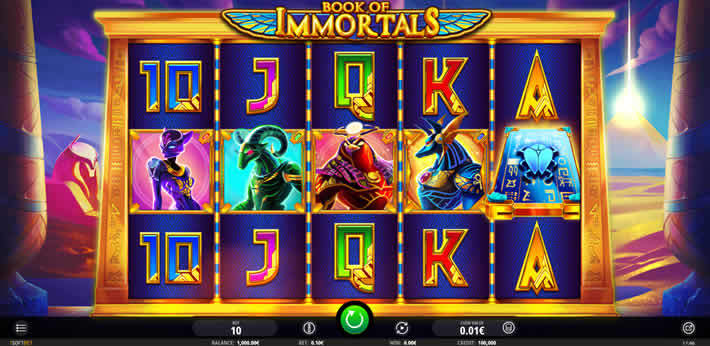 Book of Immortals slot by isoftbet