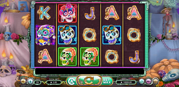 Sugar Skulls slot by Booming Games
