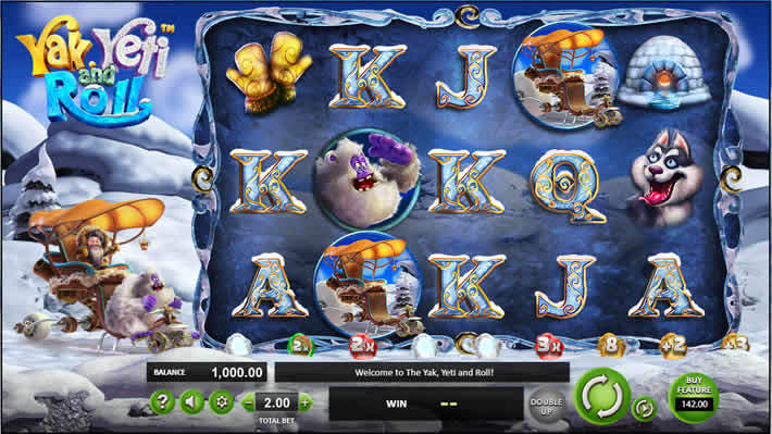 Yak Yati Roll slot from Betsoft