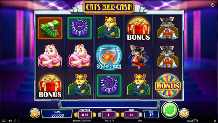 Top Ten Slots With Minimum Bets: Cats and Cash