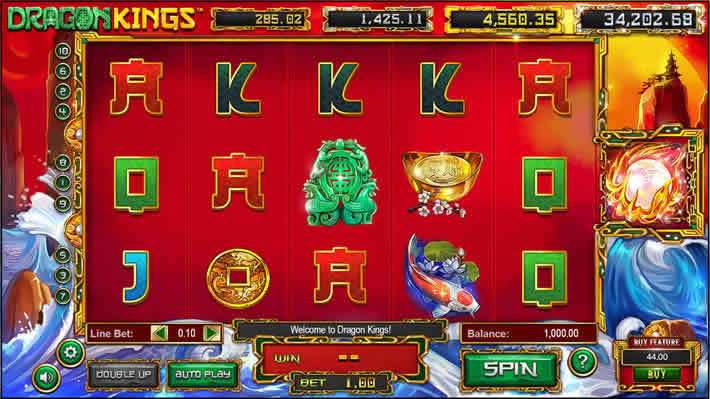 Top Ten Slots With Minimum Bets: Dragon King